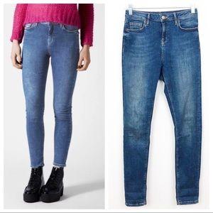 Topshop Jeans Moto Jamie High Waist Skinny